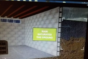 How rain saturates the ground | Eco-Dry Waterproofing
