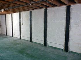 Structure damage- Newton, NJ- EcoDry Waterproofing