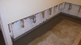 Interior Drainage system- Newton, NJ- EcoDry Waterproofing
